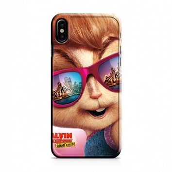 Alvin And The Chipmunks The Movies Glasses Sydney iPhone X Case