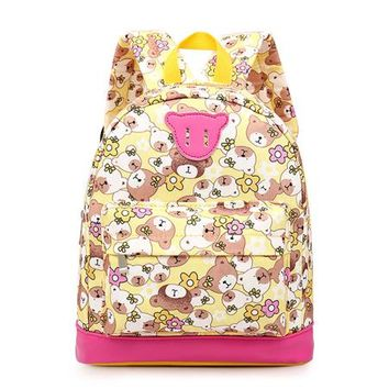 School Backpack 2018 Cartoon bear Kids Baby's Bags  For Child Girl School Bag For Kindergarten Cute Children Backpack mochila AT_48_3