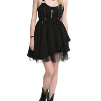 Hell Bunny Iva Black Dress