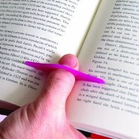 Thumb Thing Book Page Holder and Bookmark, Medium, colors may vary (TPG-TT2)