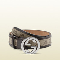 belt with interlocking G buckle 142930F069R9643