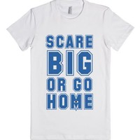 Scare Big-Female White T-Shirt