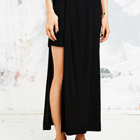 Cheap Monday Hi-Low Swap Skirt in Black - Urban Outfitters