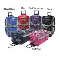 Olympia 33-inch 8-pocket Rolling Upright Duffel Bag | Overstock.com