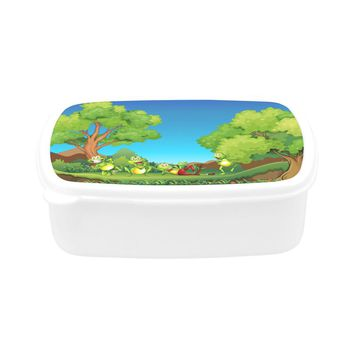 Children's Frogs Lunch Box