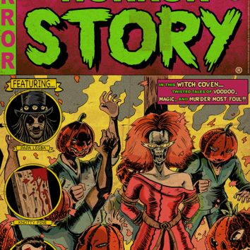 """""""American Horror Story Issue 3: Coven"""" by J.Q. Hammer"""