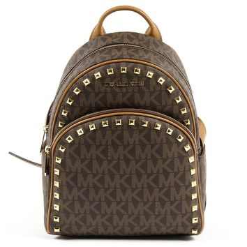 Michael Kors Womens Backpack ABBEY 35T7GAYB8B BRN ACORN