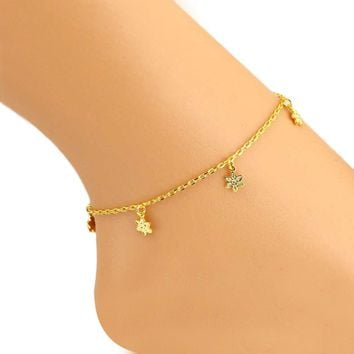 Flowers Anklet Foot Jewelry