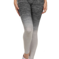Ombre Yoga Pants - Black