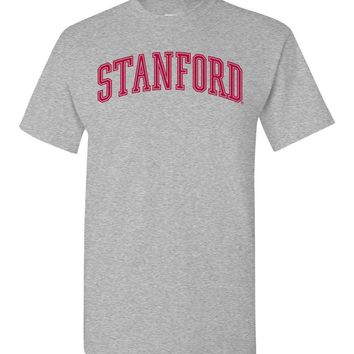 Official NCAA Stanford University Cardinal SU The Stanford Tree ALL RIGHT NOW! Short-Sleeve T-Shirt - stan1001-b