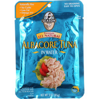Season Brand Tuna - Albacore - Pouch - 3 Oz - Case Of 12