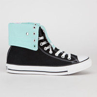 Converse Chuck Taylor All Star Knee Hi Womens Shoes Black/Beach Glass  In Sizes