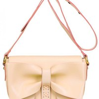Vintage White Handbag with Bow$46.00