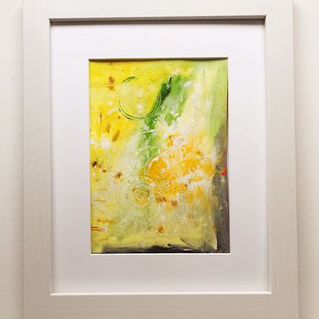 013 Original Abstract  Art on Paper. Free-shipping within USA.