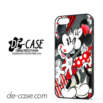 Mickey Mouse Kissing By Minnie Mouse Disney For Iphone 5 Iphone 5S Case Phone Case Gift Present