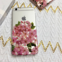 Lovely cherry blossom Case Cover for Apple iPhone 6 6S 6 Plus 6S Plus DC0823-001
