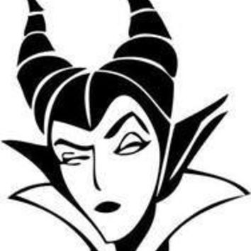 Maleficent Evil Queen 2 Laptop Vinyl Car Decal