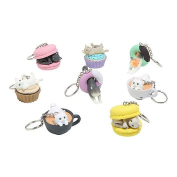 Cafe Du Meow Blind Box Key Chain