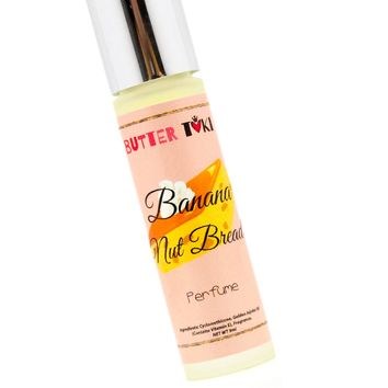 BANANA NUT BREAD Roll On Oil Based Perfume 9ml - CLEARANCE