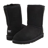 UGG Fashion Women Men Personality Winter Warm Snow Boots Shoe Black I