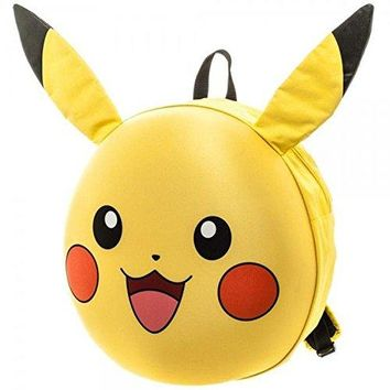 Pokemon Pikachu 3D Moulded Backpack