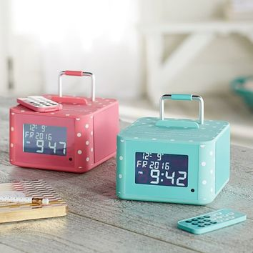 Groove and Go Bluetooth Alarm Clock