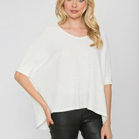 Pauline Top - Winter White