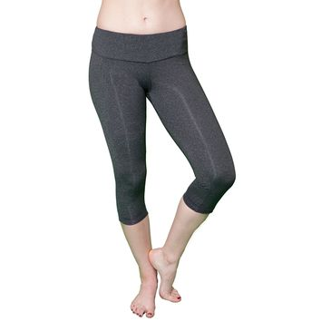 Carpi Leggings for Yoga, Pilates and Running - Dark Gray