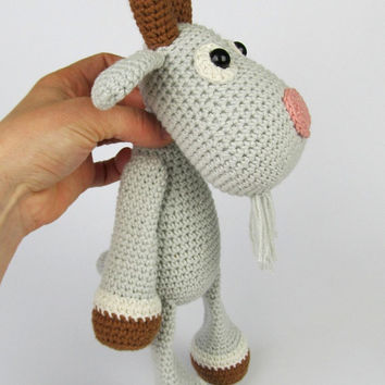 Goat Lisa - Amigurumi Crochet Pattern / PDF e-Book / Stuffed Animal Tutorial