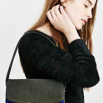Silence + Noise Suede Shoulder Bag