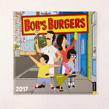 2017 Bobs Burgers Wall Calendar - Urban Outfitters