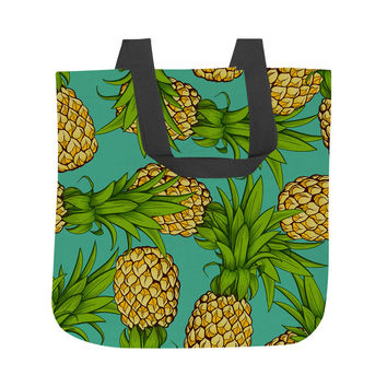 Crazy Pineapples Tote Bag