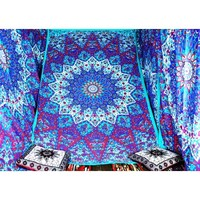 Home Décor Psychedelic Wall Hanging Bedspread Tapestries - Future Handmade