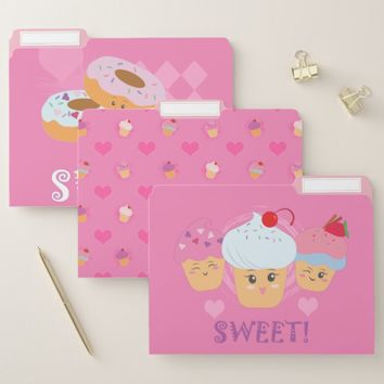 Sweet Treats File Folder
