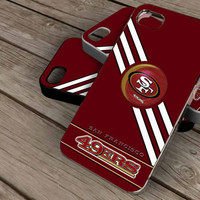 San Francisco 49ers nfl on iPhone 4 / iPhone 4S / iPhone 5 / Samsung S2 / Samsung S3 / Samsung S4 Case Cover THEMOSTCASE