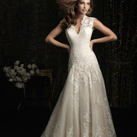 Allure Bridals 8965 Vintage Lace Wedding Dress