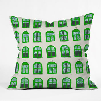 Mummysam Windows Throw Pillow