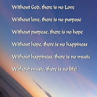 Without God there is no music by soulpacifica