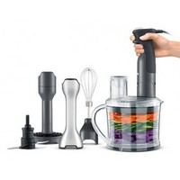 Breville All-in-One Processing Station - Combination Immersion Blender & Food Processor