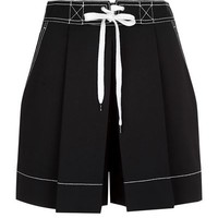 Alexander Wang Inverted Pleat Shorts