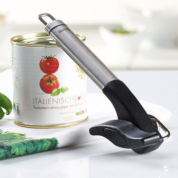 Leifheit Stainless Steel Safety Pro Single Handle Can Opener