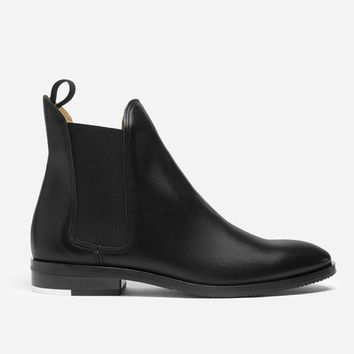 The Chelsea Boot - Burgundy