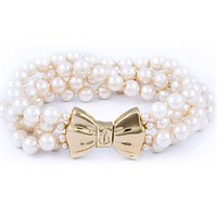 Uptown Girl Pearl Bracelet by Kiel James Patrick