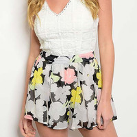 Feels Right Floral Romper - White