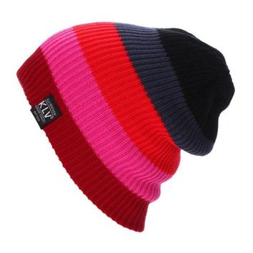 CUPUP9G New Outdoor Camping Hinking Womens Warmer Cap Men Women Baggy Winter Hat Ski Slouchy Chic Cap Sombrero