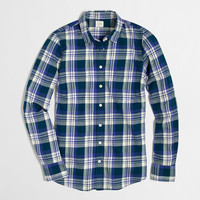 Factory classic button-down shirt in flannel : Shirts & Tops | J.Crew Factory