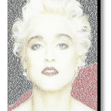 Madonna Like A Virgin Lyrics Mosaic INCREDIBLE