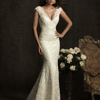 Allure Bridals 8903 Sample Sale White Size 12
