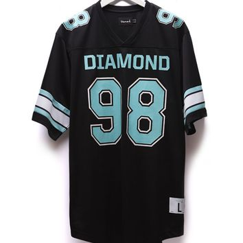 Diamond Supply Co DMND Football Jersey - Mens Tee