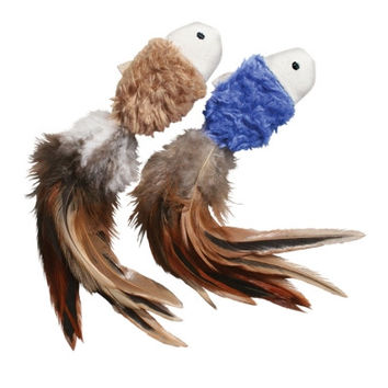 KONG Crinkle Fish Cat Toy - 2 ct